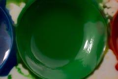 Μακρο γκουας μελανιού closeup Στοκ φωτογραφία με δικαίωμα ελεύθερης χρήσης