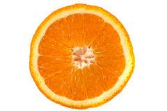 Μακρο εικόνα του ώριμου πορτοκαλιού στενό πορτοκάλι επάνω Στοκ εικόνα με δικαίωμα ελεύθερης χρήσης