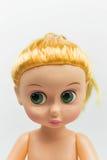 Μακρο κούκλα κοριτσιών Στοκ Εικόνα