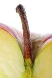 Μακρο κόκκινο της Apple Στοκ Φωτογραφία