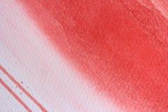 Μακρο κόκκινο Watercolor διανυσματική απεικόνιση