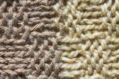 Μακρο μαλλί 2 συστάσεων υποβάθρων Στοκ Φωτογραφίες