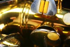μακρο παλαιό saxophone στοκ φωτογραφία με δικαίωμα ελεύθερης χρήσης