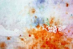 Μακρο πολύχρωμο Watercolor 15 ελεύθερη απεικόνιση δικαιώματος