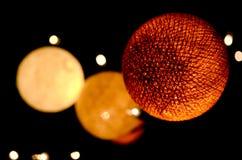 Μακρο πυροβολισμός των ζωηρόχρωμων διακοσμήσεων Χριστουγέννων Στοκ Εικόνες