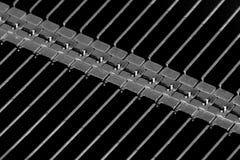 Μακρο σίδηρος Στοκ φωτογραφία με δικαίωμα ελεύθερης χρήσης