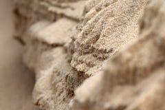 μακρο σύσταση άμμου ανασκόπησης Στοκ Φωτογραφίες