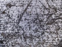 Μακρο σύσταση - μέταλλο - που γρατσουνίζεται Στοκ φωτογραφία με δικαίωμα ελεύθερης χρήσης
