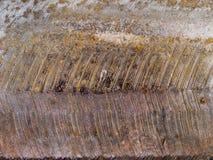 Μακρο σύσταση - μέταλλο - που οξυδώνεται Στοκ εικόνα με δικαίωμα ελεύθερης χρήσης