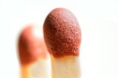μακρο τρόπος matchsticks Στοκ εικόνα με δικαίωμα ελεύθερης χρήσης