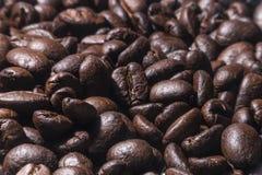Μακρο φασόλι καφέ για τις επιλογές menufor Στοκ φωτογραφίες με δικαίωμα ελεύθερης χρήσης