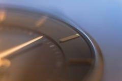 Μακρο φωτογραφία ρολογιών Στοκ Εικόνες