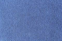 Μπλε σύσταση υφασμάτων Στοκ εικόνα με δικαίωμα ελεύθερης χρήσης