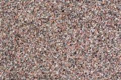 Μακρο φωτογραφία των κόκκινων μικρών πετρών χαλαζίας Στοκ εικόνα με δικαίωμα ελεύθερης χρήσης