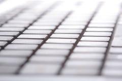 μακρο όψη σειρών lap-top πλήκτρων &u Στοκ φωτογραφίες με δικαίωμα ελεύθερης χρήσης