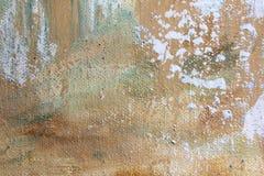 Μακρο Grunge καμβά χρωματισμένο ουράνιο τόξο βαμμένο δεσμός ύφασμα υποβάθρου τέχνης υποβάθρου αφηρημένο απεικόνιση αποθεμάτων