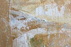 Μακρο Grunge καμβά χρωματισμένο ουράνιο τόξο βαμμένο δεσμός ύφασμα υποβάθρου τέχνης υποβάθρου αφηρημένο διανυσματική απεικόνιση