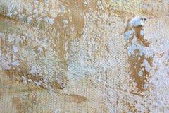 Μακρο Grunge καμβά χρωματισμένο ουράνιο τόξο βαμμένο δεσμός ύφασμα υποβάθρου τέχνης υποβάθρου αφηρημένο ελεύθερη απεικόνιση δικαιώματος