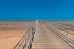 Μακρύς λόρδος στη θάλασσα στο Σεϊχη Sharm EL με το μπλε ουρανό στοκ εικόνες