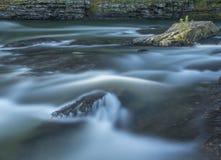 Μακρύς ποταμός έκθεσης Στοκ φωτογραφία με δικαίωμα ελεύθερης χρήσης