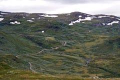 μακρύς πουθενά δρόμος Στοκ Εικόνες