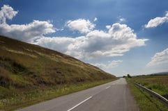 μακρύς δρόμος Στοκ φωτογραφία με δικαίωμα ελεύθερης χρήσης