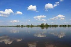 Μακρύτερος ποταμός στην Πολωνία, Vistula Στοκ Εικόνες