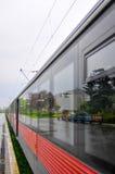 Μακρύ τραίνο Στοκ εικόνα με δικαίωμα ελεύθερης χρήσης