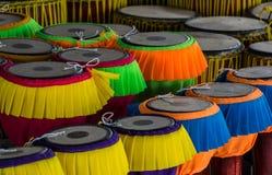 Μακρύ όργανο μουσικής τυμπάνων ταϊλανδικό Στοκ Εικόνες