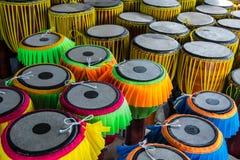 Μακρύ όργανο μουσικής τυμπάνων ταϊλανδικό Στοκ φωτογραφία με δικαίωμα ελεύθερης χρήσης