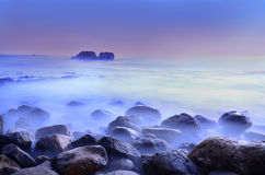 μακρύ seascape έκθεσης πλάνο Στοκ φωτογραφίες με δικαίωμα ελεύθερης χρήσης