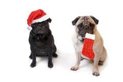 μαλαγμένοι πηλοί Χριστουγέννων Στοκ Φωτογραφία