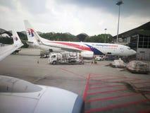 Μαλαισιανές αερογραμμές πτήσης που 727 Στοκ Εικόνα