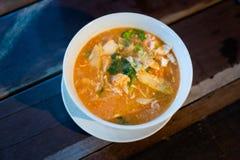 Μαλαισιανή σούπα νουντλς Mee Bandung στοκ εικόνα