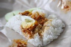 μαλαισιανό ρύζι καρύδων πα&rh Στοκ Εικόνες