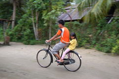 μαλαισιανό χωριό Στοκ Φωτογραφίες