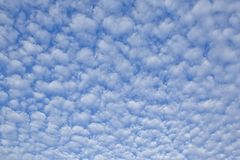 Μαλακά άσπρα σύννεφα Στοκ Εικόνες