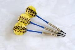 Μαλακά βέλη ακρών για ένα ηλεκτρονικό dartboard. Στοκ φωτογραφία με δικαίωμα ελεύθερης χρήσης