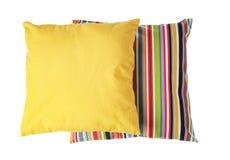 Μαλακά διακοσμητικά μαξιλάρια Στοκ Εικόνες