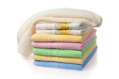 μαλακές πετσέτες Στοκ Εικόνα