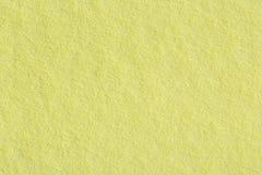 Μαλακή κίτρινη σύσταση εγγράφου Στοκ φωτογραφία με δικαίωμα ελεύθερης χρήσης