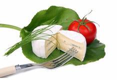 μαλακή ντομάτα τυριών Στοκ φωτογραφία με δικαίωμα ελεύθερης χρήσης