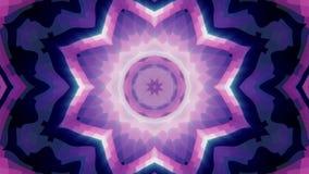 Μαλακή ταραχώδης διακοσμητική λαμπρή ελαφριών ακτίνων νέα ποιότητα ζωτικότητας σχεδίων καλειδοσκόπιων εθνική φυλετική psychedelic ελεύθερη απεικόνιση δικαιώματος