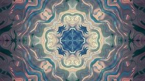 Μαλακή ταραχώδης διακοσμητική λαμπρή ελαφριών ακτίνων νέα ποιότητα ζωτικότητας σχεδίων καλειδοσκόπιων εθνική φυλετική psychedelic διανυσματική απεικόνιση