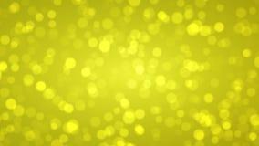 Μαλακός χρυσός bokeh, αφηρημένο υπόβαθρο διακοπών διανυσματική απεικόνιση