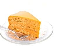 μαλακό τσάι Ταϊλανδός στρώματος 2 κέικ Στοκ φωτογραφία με δικαίωμα ελεύθερης χρήσης