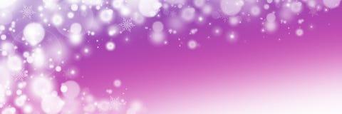 Μαλακό υπόβαθρο Χριστουγέννων με snowflakes στοκ εικόνα