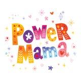 Μαμά δύναμης στοκ φωτογραφίες με δικαίωμα ελεύθερης χρήσης