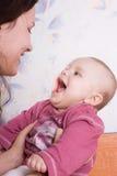 μαμά κορών Στοκ φωτογραφίες με δικαίωμα ελεύθερης χρήσης