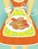 μαμά μπισκότων απεικόνιση αποθεμάτων